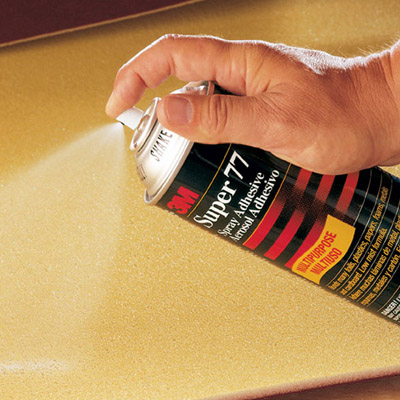 3M Spray Glue Adhesive 2