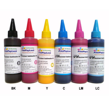 Sublimation ink 100ml 6 color 3