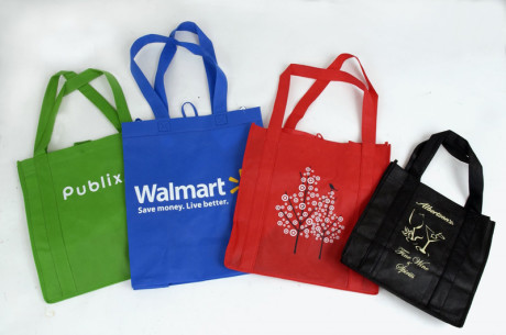 Reusable grocery bags… for Autum story,,,,  photo by Malcolm Denemark