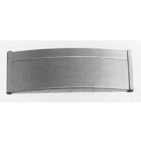 Curved Aluminum plates 1 face L003