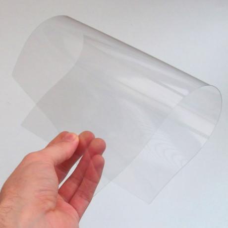 PVC paper card A4 size 1