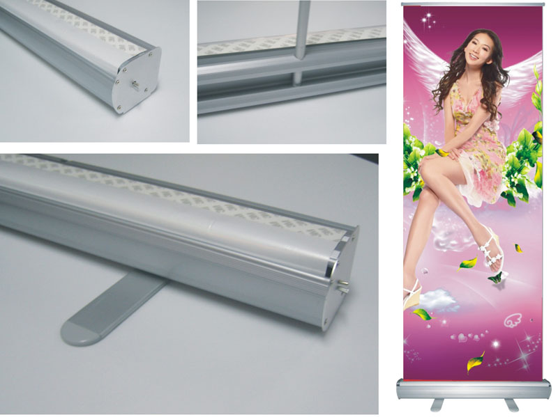 Roll up stand aluminum adar for Stand roll up