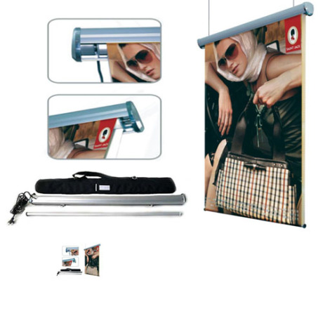 Rolling stand display R001