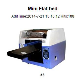 mini flatbed A3