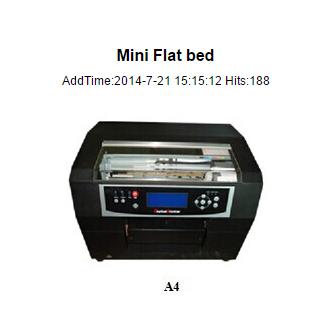 mini flatbed A4
